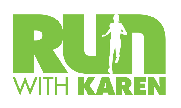 Run with Karen Retina Logo